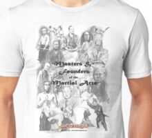 Masters and Founders of Martial Arts calendar Unisex T-Shirt