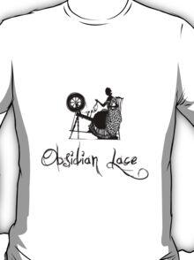 Latinive Logo in black T-Shirt