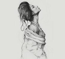 Lady Drawing Unisex T-Shirt