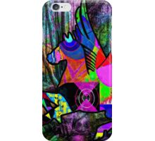 Dancing horse in the dark forest of the soul iPhone Case/Skin