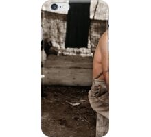 Unemployed lumber worker, ca. 1939 iPhone Case/Skin