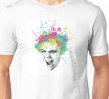Screaming Color Unisex T-Shirt