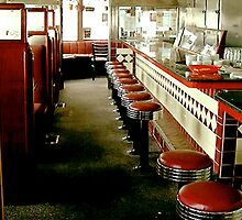 Diner Stools A Go-Go by gailrush