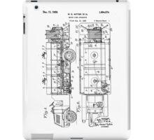Motor Fire Apparatus 1925 - light iPad Case/Skin