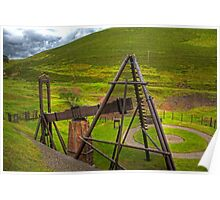 Wanlockhead Beam Engine Poster