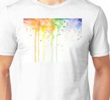 Watercolor Rainbow Unisex T-Shirt