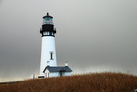 Yaquina Head Lighthouse, Newport,Or by Jennifer Hulbert-Hortman