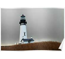 Yaquina Head Lighthouse, Newport,Or Poster