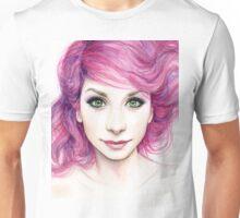 Magenta Hair Unisex T-Shirt