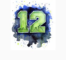 Seahawks Art 12th Man Watercolor Painting Unisex T-Shirt