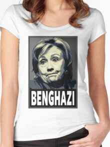 Benghazi Women's Fitted Scoop T-Shirt