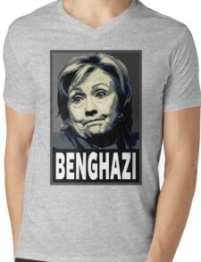 Benghazi Mens V-Neck T-Shirt