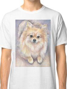 Pomeranian Watercolor Classic T-Shirt