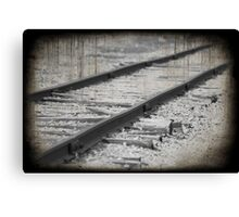 Railroad Canvas Print