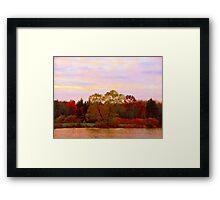 On Echo Lake  Framed Print