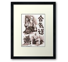aikido master Framed Print