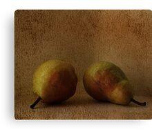 vintage pears Canvas Print