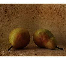 vintage pears Photographic Print