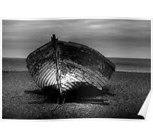 Beach wreck  Poster