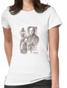 judo kano Womens Fitted T-Shirt