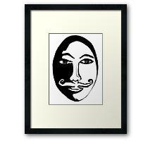 Hercules Poirot Framed Print