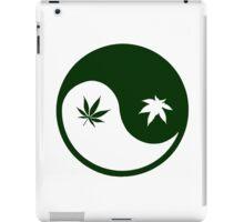 Weed YinYang iPad Case/Skin