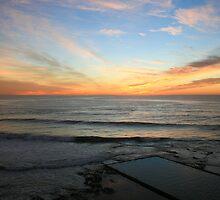 Blending blue and orange skies by ingas