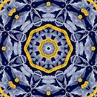 Blue Mandala by mollywog