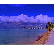 Key Biscayne Beach Photographic Print
