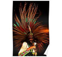 Aztec Dancer Poster