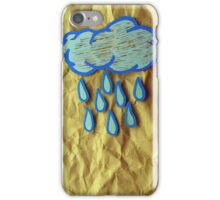 A Rainy Day is A Happy Day iPhone Case/Skin