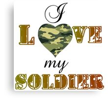 MY SOLDIER Canvas Print