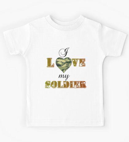 MY SOLDIER Kids Tee