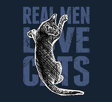 Real Men Love Cats by Garaga