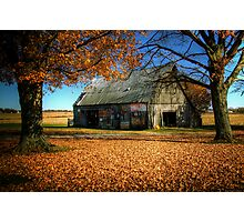 Bicknell Barn Photographic Print