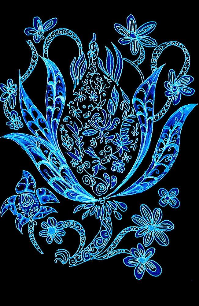 Budding Flower Series 1.2 by Koon