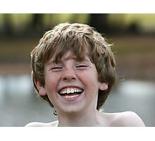 The Joy of Laughter Photographic Print
