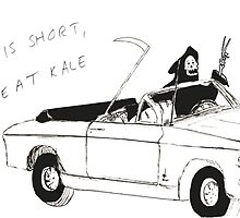 life is short, don't eat kale by yungbath
