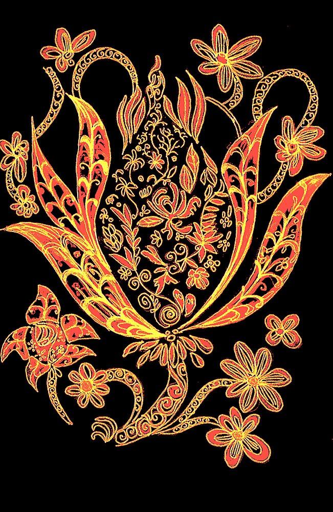Budding Flower Series 1.1 by Koon