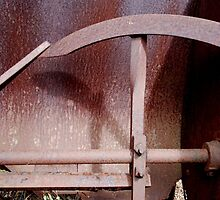rusTy chaff thresher by Clare McClelland