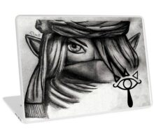 Denali Hyrule Warriors Sheik Sketch Laptop Skin