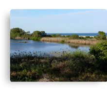 Buckleys Hole - Bribie Island Canvas Print