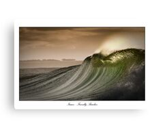 Isaac's Right - Friendly Beaches, Tasmania Canvas Print