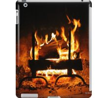 Fireplace | Old Bethpage, New York  iPad Case/Skin