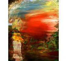 Experimental Abstract. 20 x 24. Acrylic. Photographic Print