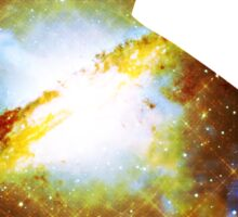 Centaurus A Peaceful Pyramid   Fractal Space Kitty Sticker