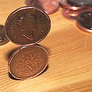 Canadian Penny Trick by Stephen Thomas