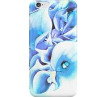 Calla Lily Soft Lilac and Blue iPhone Case/Skin