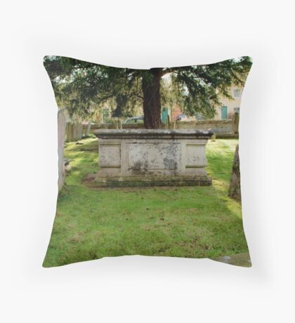 rest stop Throw Pillow