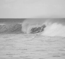 Rolling wave by Sarah  Lawrence